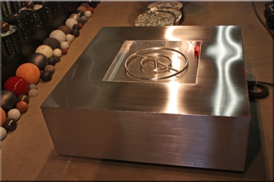 Stainless Steel Fire Table