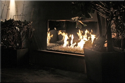 Jeff Jampol Outdoor Fireplace