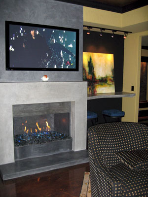 indoor ventless propane fireplacewith fire place gass