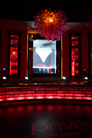 prive lounge and bar vortex fires